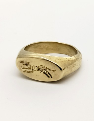 Roman greyhound ring