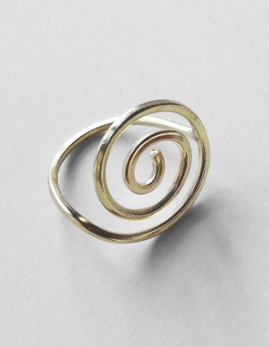 Anillo espiral Celta
