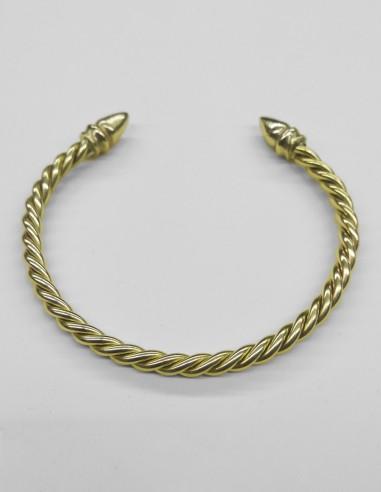 Twisted acorn bracelet